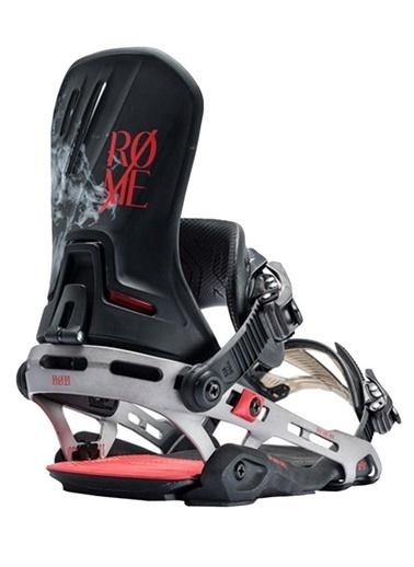 Rome Snowboard Bağlaması Gri